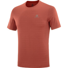 Salomon XA Camo Camiseta Manga Corta Hombre, goji berry/heather
